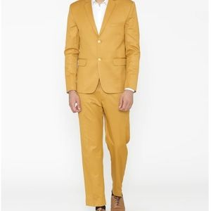 Raymond Yellow Formal Suit